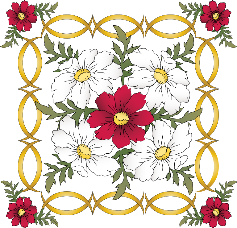 Pretty Flowers Designs For A Multitude Of Projects 12 Designs