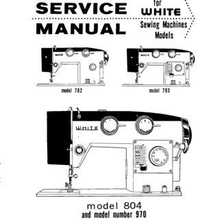 white 299d serger manual