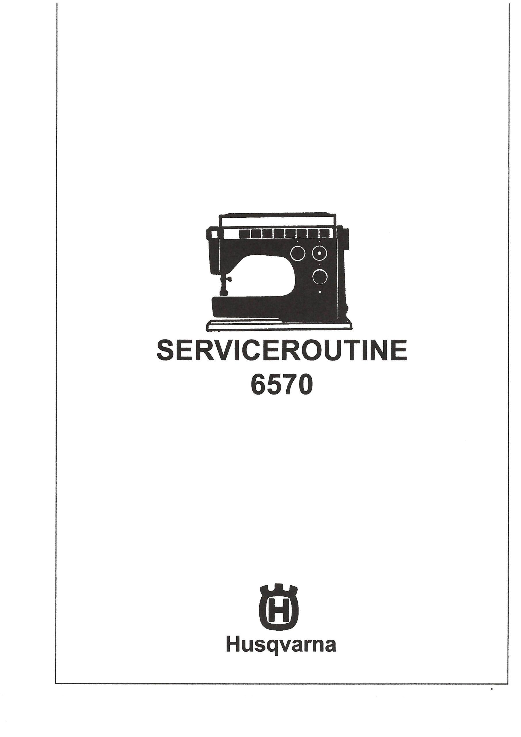 Service Manual Viking 6460  6570  2000